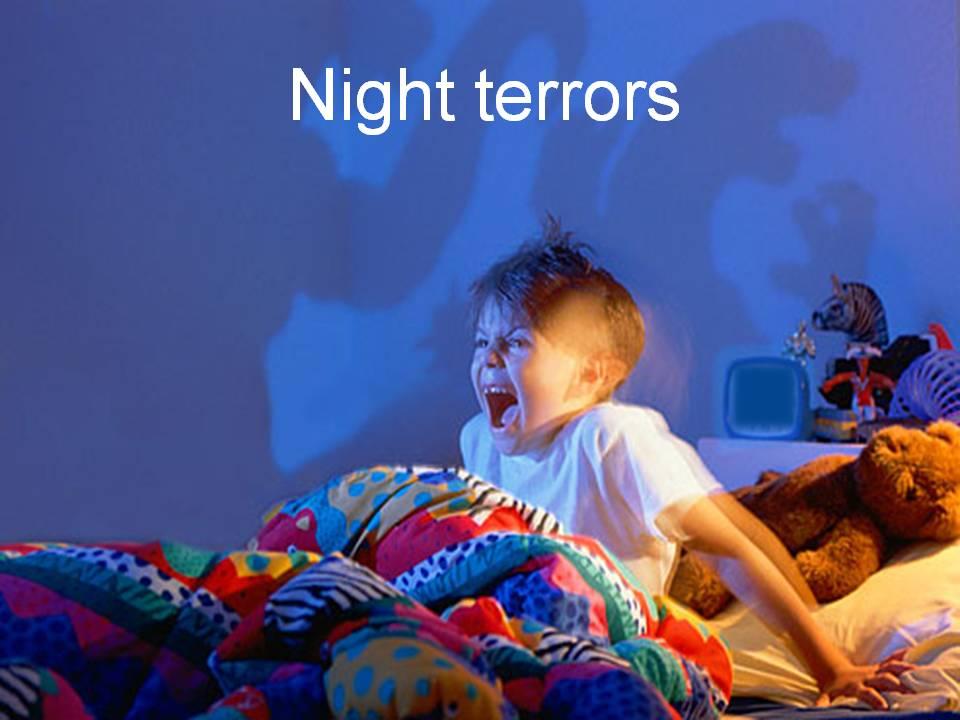 Но у большинства детей бывают периоды, когда снятся кошмары.